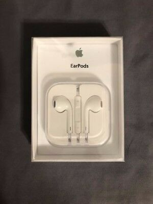 Apple EarPods Authentic OEM In Packaging Sealed For iPhone 5 5s 6 6s Brand New