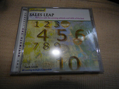 Sales Leap Paul Scheele new sealed self help cd