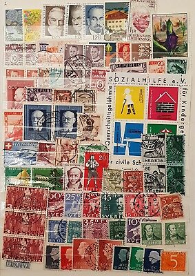 Europe and Scandinavia Used and Mint Stamps Collection  Lot # 1