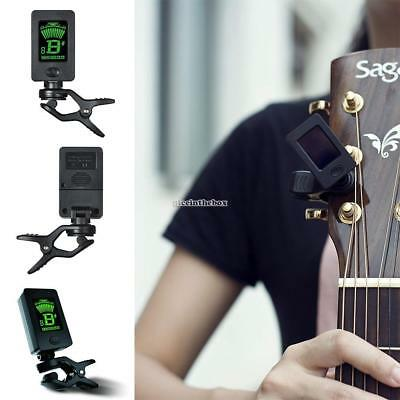 Lightweight 360 Degree Rotation LED Screen Display Clip-On Tuner For N98B