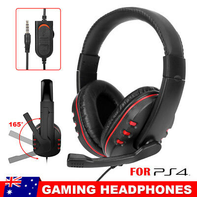 Gaming Headset Universal-PS4,PC,XBOX ONE-Headphones & Microphone Volume Control