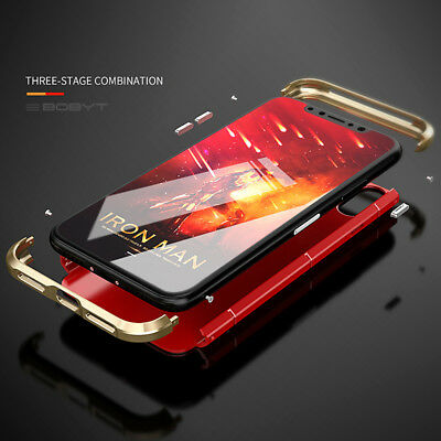Metal Ultra Thin Luxury Shockproof Armor Aluminum Case Cover For iPhone X/Xs Max