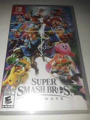 Super Smash Bros. Ultimate. Nintendo switch, (BRAND NEW, FACTORY SEALED)