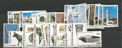 1983 MNH Cyprus year collection
