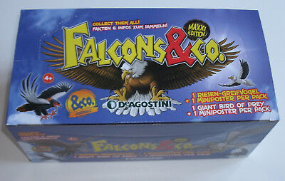 DeAgostini Falcons & Co. Maxxi Edition - 1 x Display / 16 Booster NEU & OVP