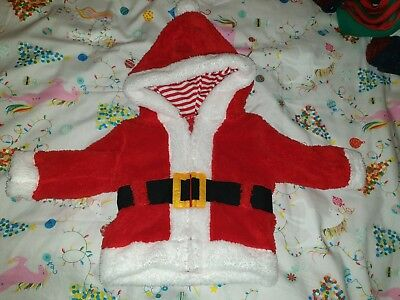 Tesco Baby Christmaa Dressing Gown Size Up To 3months