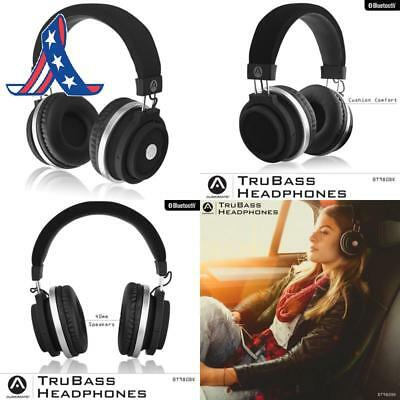 Audiomate Bt980 Stereo Hd Audio Bluetooth Wireless Over-Ear Headphones | Built-I