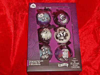 Nightmare Before Christmas Baubles Decorations NEW Disney Jack Oogie NBX Sally
