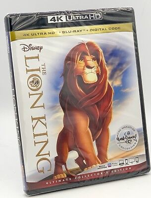 Lion King, The (4K UHD+Blu-ray+Digital, 2018; Ultimate Collector's Ed.) NEW*