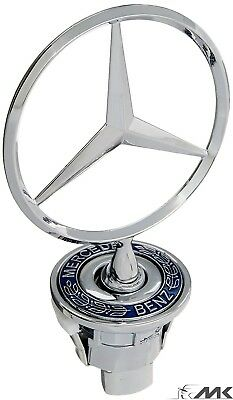 MERCEDES BENZ BONNET HOOD LOGO EMBLEM BADGE For W203 W202 W208 W210 W211 / 44MM