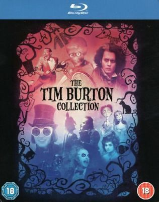 The Tim Burton Collection  8 Films    (Blu-Ray)    Brand New !