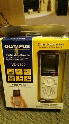 Olympus Digital Voice Recorder - VN-7800. Brand new and boxed.