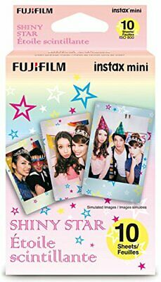 Fujifilm Instax Mini Shiny Star Film - 10 Exposures