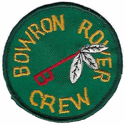 Bowron Rover Crew Badge.