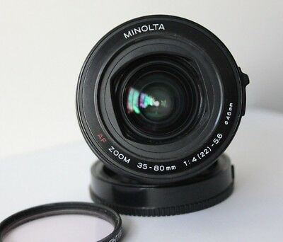 Minolta / Sony Alpha DSLR & SLT  fit 35-80mm  AF Wide Angle Zoom Lens