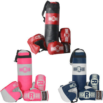 Ringside Kids Boxing Set with Mini Heavy Bag, Gloves and Headgear (2-5 year old)