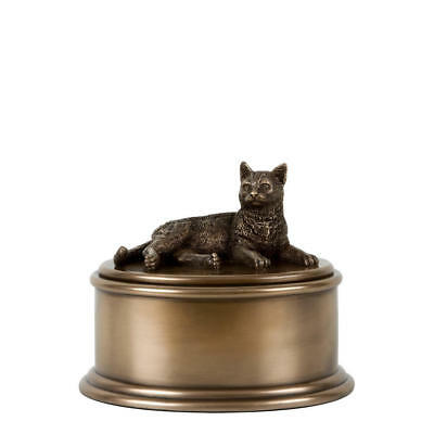 Perfect Memorials Short Hair Cat Figurine Cremation Urn