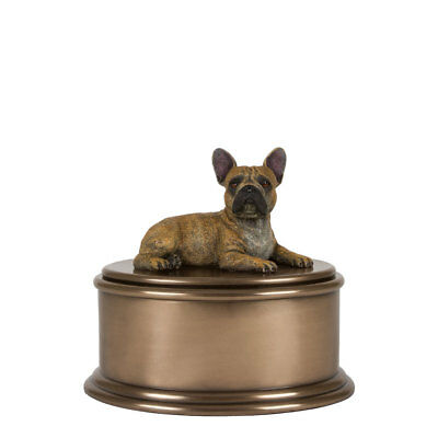 Perfect Memorials French Bulldog Figurine Cremation Urn