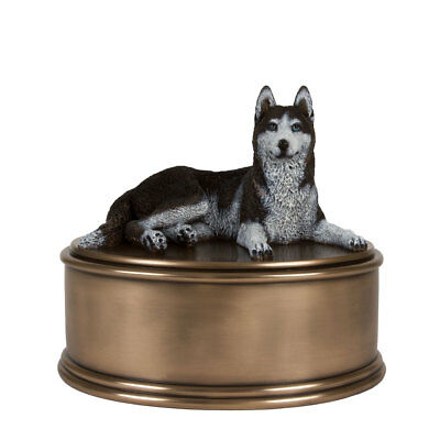 Perfect Memorials Husky Figurine Cremation Urn