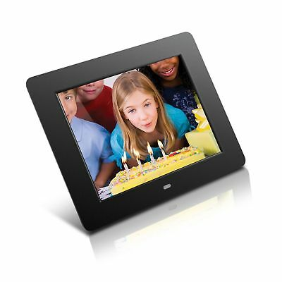 Aluratek Admpf108f 8 Inch Hi Res Digital Photo Frame With 512mb