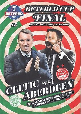 Scottish League Cup Final 2018 Celtic v Aberdeen