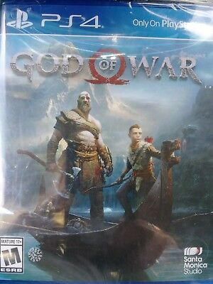 Brand New God of War (Sony PlayStation 4, 2018) PS4