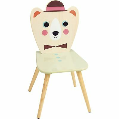 Vilac BEAR CHAIR Children Wooden Activity Toy Game Pre-School BN
