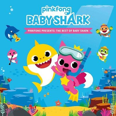 Pinkfong Presents The Best Of Baby Shark CD New 2018