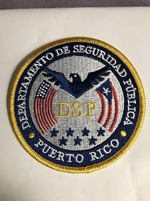New Rare Puerto Rico Department Of Public Safety Headquarters Patch