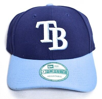 meet d5a1f 891c3 TAMPA BAY RAYS New Era 2 Tone Adjustable Hat Cap 9Forty One Size MLB