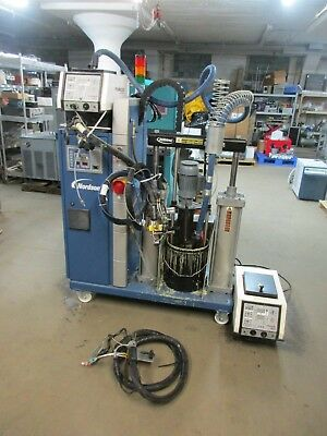 Nordson 2012 Hot Melt Complete With Xtra Tank And Gun