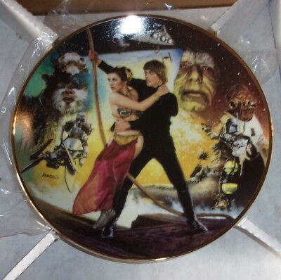 Star Wars Trilogy Star Wars, Empire Strikes Back Return of Jedi collector Plates