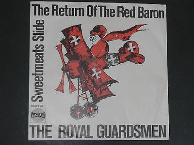 7-Single-Beat-THE ROYAL GUARDSMEN-The return of the red Baron