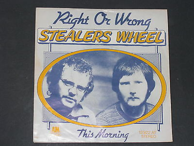 7-Single-Poprock-STEALERS WHEEL-Right or wrong