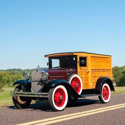 1930 Ford Other Woody Panel Truck 1930 Ford Model A Woody Panel Truck