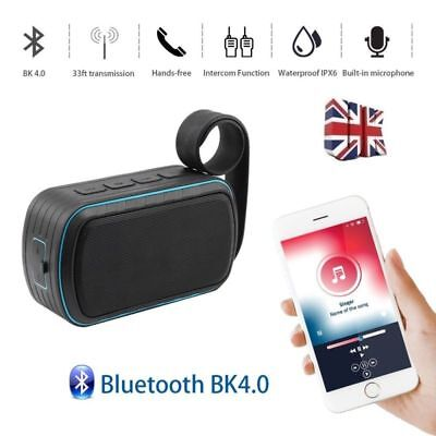 Portable Wireless Bluetooth Speaker with Loud Stereo Sound Hands-free Waterproof