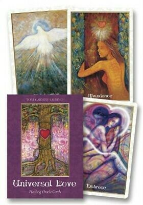 Universal Love Healing Oracle Cards (Cards)