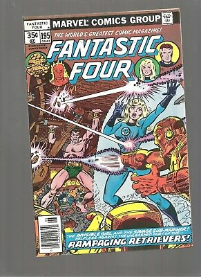 Fantastic Four #195  High Gradr 9.6/9.8  Copy  Subby Impossible Man