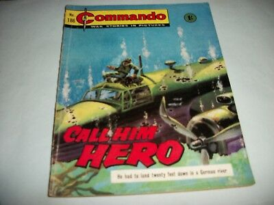 Early 1960's  Commando comic no. 186
