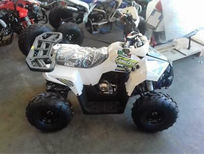 Quad fighter 125 r8 bianco con retromarcia
