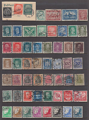 Uncle Shelby's Really Old Stamps Lot #58843  -- Germany   --   Used