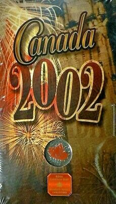 2002 Canada Day RCM Sealed Colourized 25 Cent Piece!!