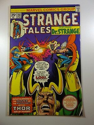 Strange Tales #182 Doctor Strange vs The Mighty Thor!! VF Condition!!!