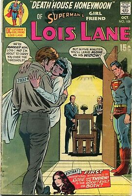 Lois Lane # 105 - 1St Appearance Of Rose And The Thorn - Cents Copy