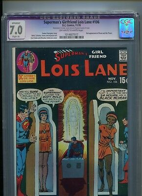 Lois Lane # 106 - Cgc 7.0 - Lois Becomes African-American - Cents Copy