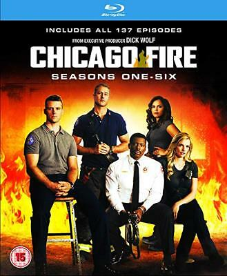 "Chicago Fire Complete Seasons Series 1+2+3+4+5+6 Blu ray Box Set RB ""CLEARANCE"""