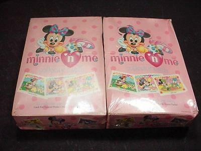 NobleSpirit NO RESERVE 2x Factory Sealed Minnie n Me Collector Card Boxes