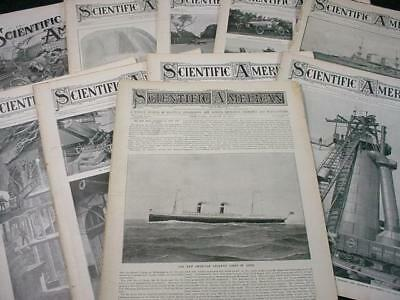 NobleSpirit NO RESERVE {3970}Selection of Antique Scientific American Newspapers