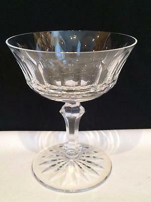 Cr1242 Waterford Innisfail Crystal Set Of 2 Champagne / Sherbet Glasses Mint