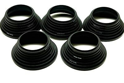 Lot Of 5 49-52-55-58-62-67-72-77 mm 7pcs Metal Step Up Rings Lens Adapter